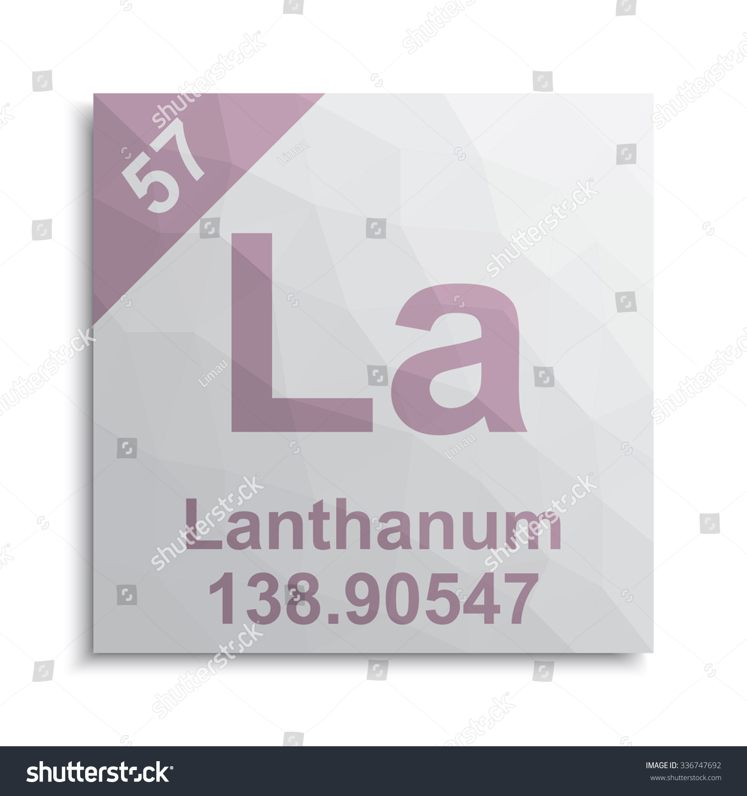 Lanthanum element periodic table stock vector 336747692 shutterstock lanthanum element periodic table gamestrikefo Gallery
