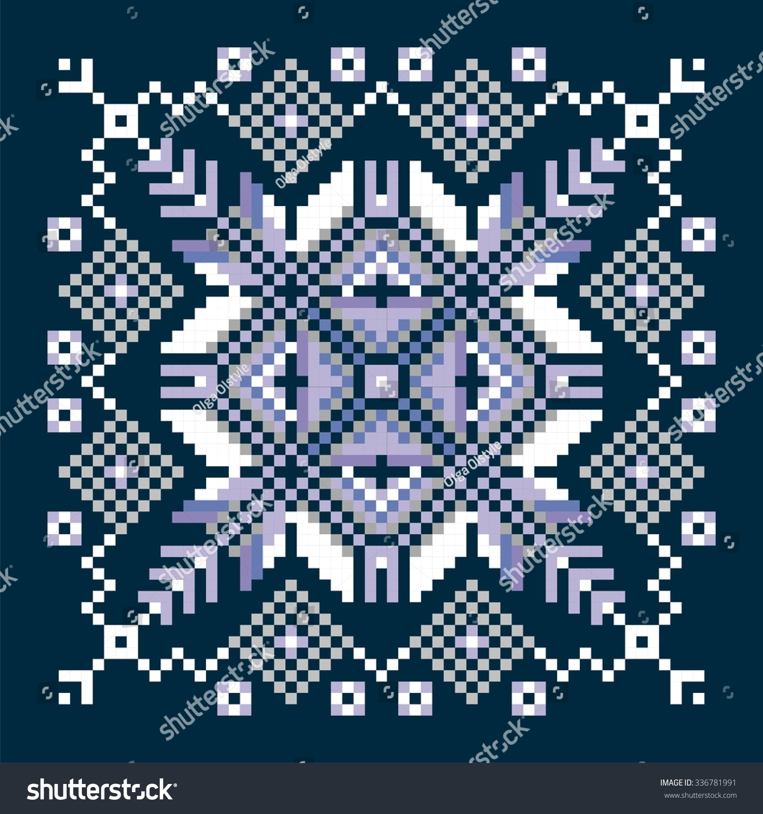 Christmas New Year Sweater Design Nordic Stock Vector (Royalty Free ...