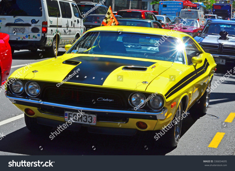 Auckland Nzl Nov 05 2015dodge Challenger Stock Photo 336834695 ...