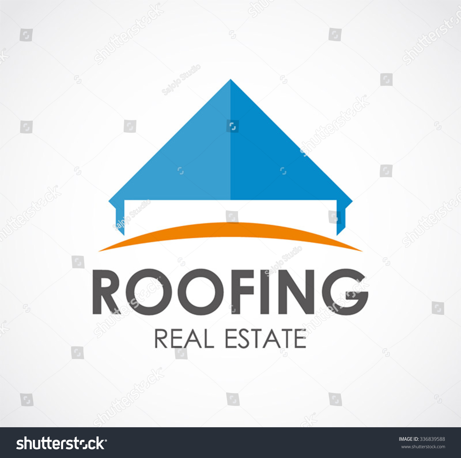 Roofing Of Real Estate Abstract Vector And Logo Design Or Template House Business Icon Of Company Sc 1 St Shutterstock  sc 1 st  memphite.com : jaf roofing shingles - memphite.com