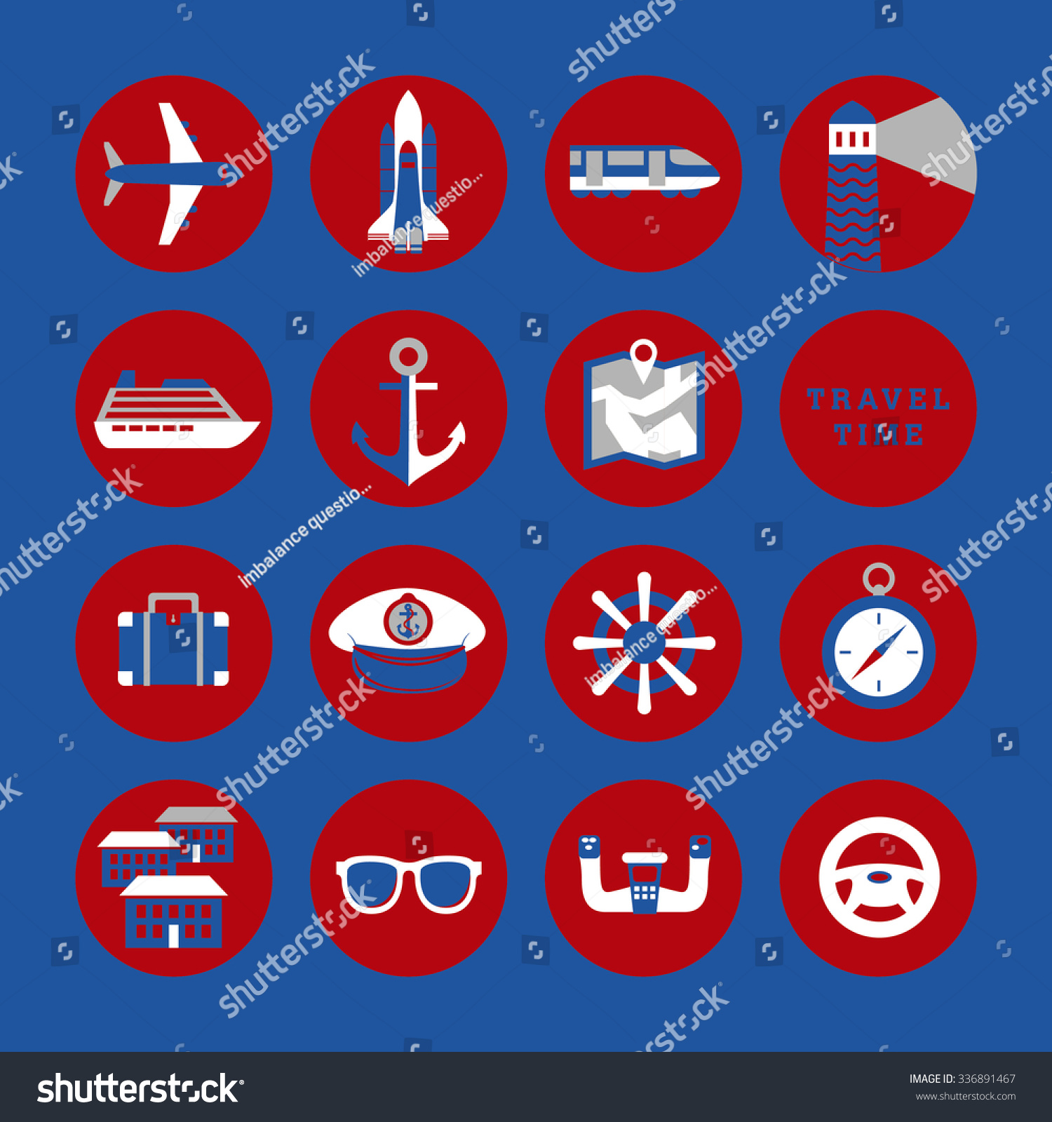 Travel signs symbols icons stock vector 336891467 shutterstock travel signs symbols icons buycottarizona Choice Image