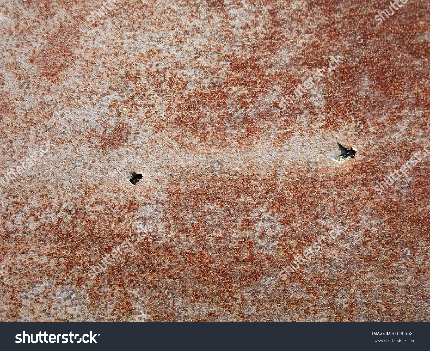 Rusty Iron Can Be Seen Dents Stock Photo 336965681 - Shutterstock