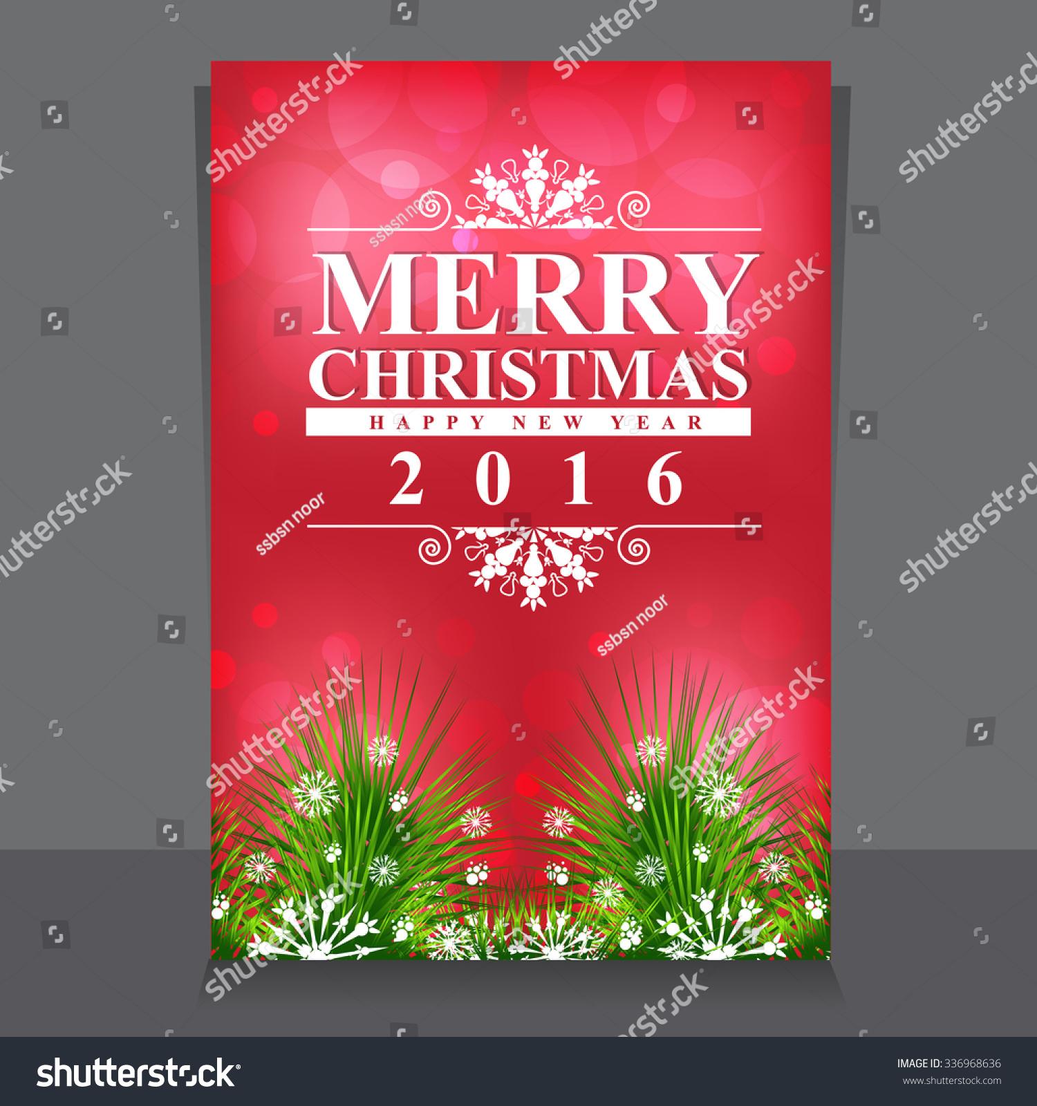 christmas brochure template stock vector royalty free 336968636