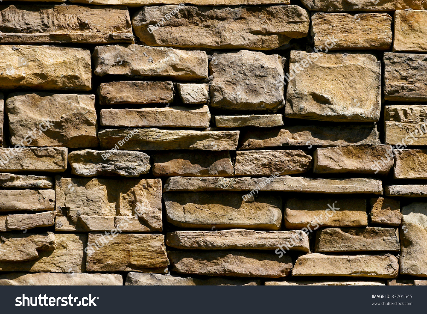 A Nice Stone Wall Good For Background Or Texture Stock