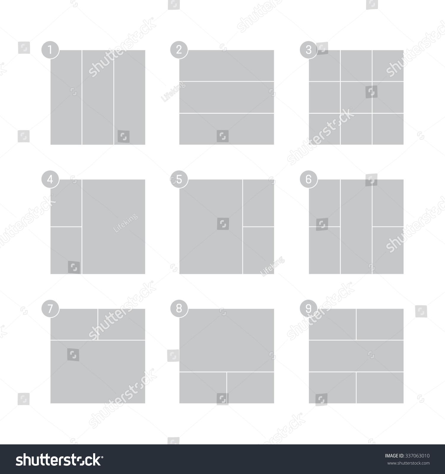 mood board vector templates 337063010 shutterstock
