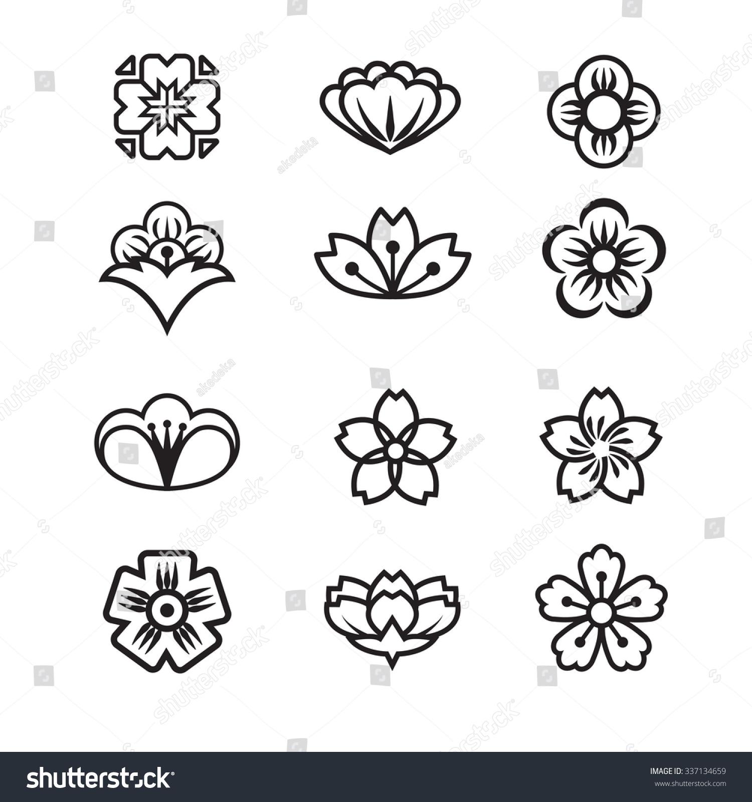 Japanese Flower Symbol