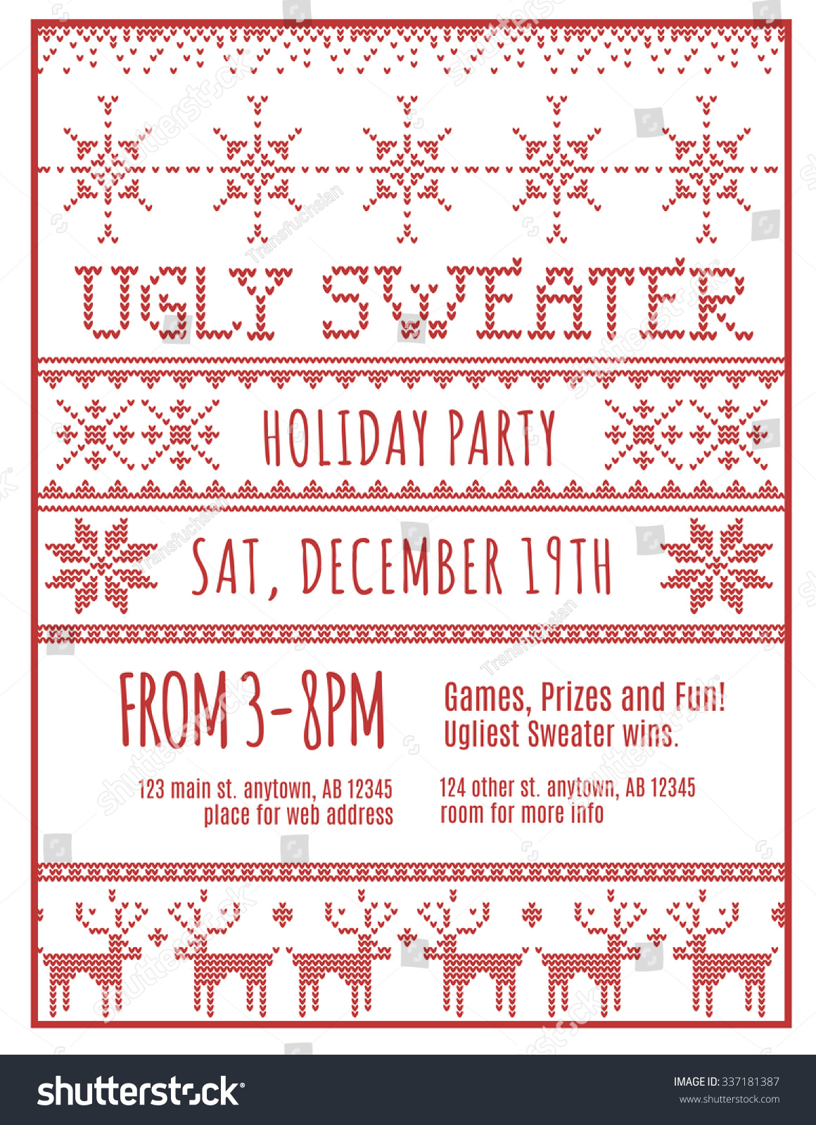 White Christmas Party Invitations Images - Party Invitations Ideas
