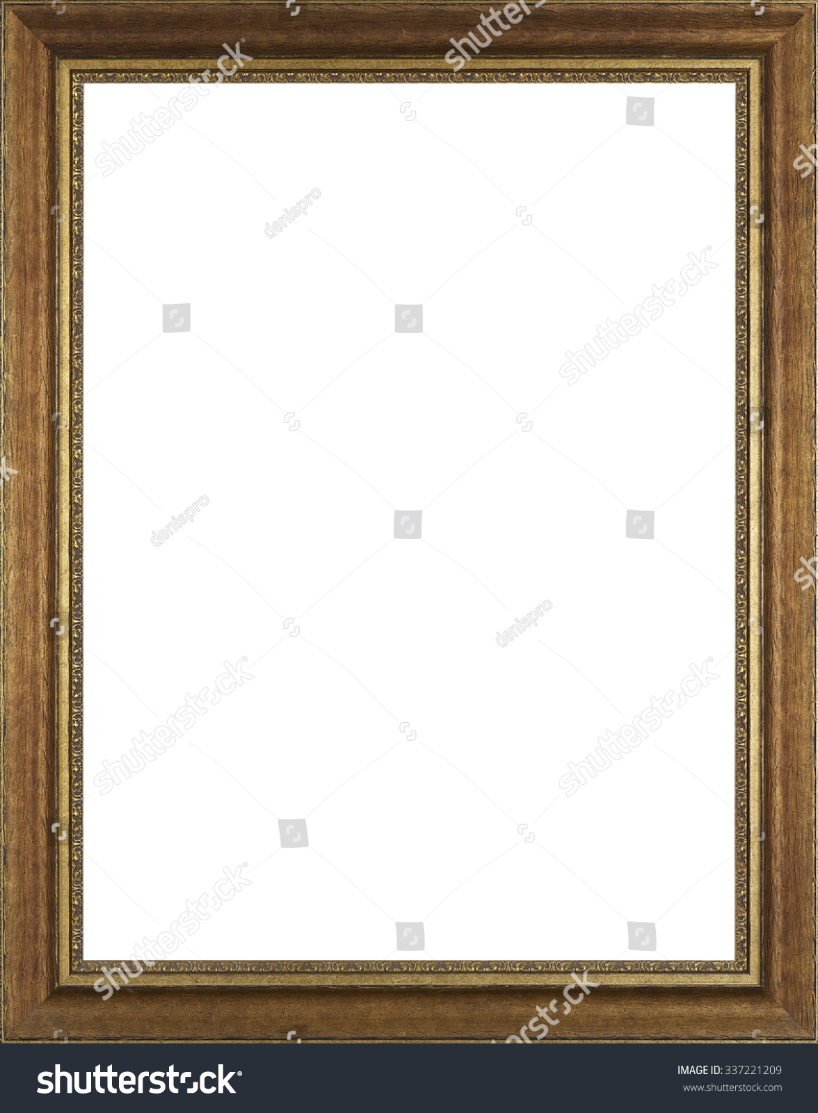 Picture frame isolated on white background stock photo 337221209 picture frame isolated on white background jeuxipadfo Gallery