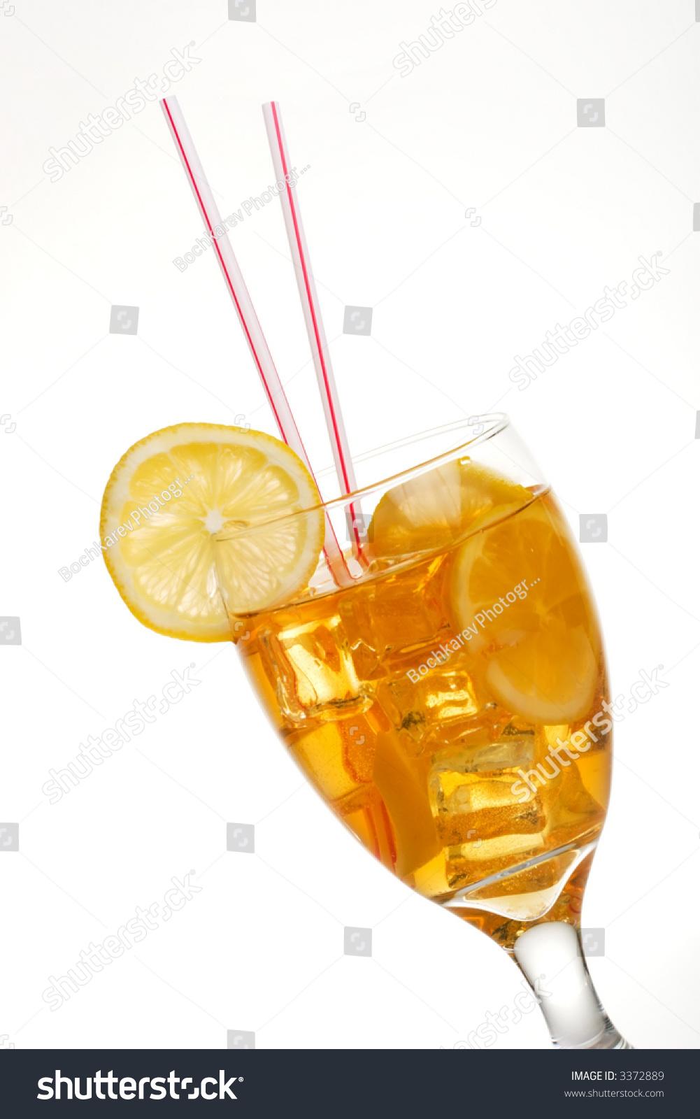 how to make a single glass of iced tea