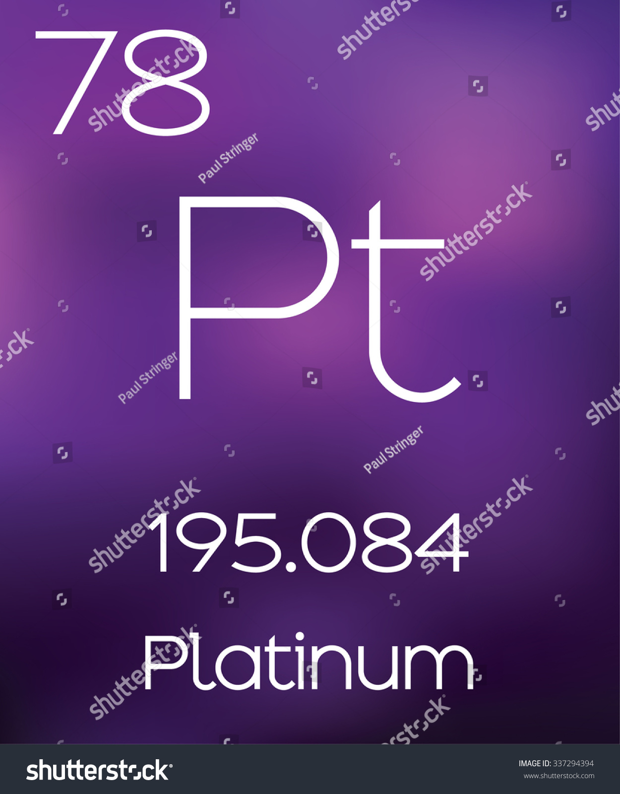 platinum stock chemical alamy element photo