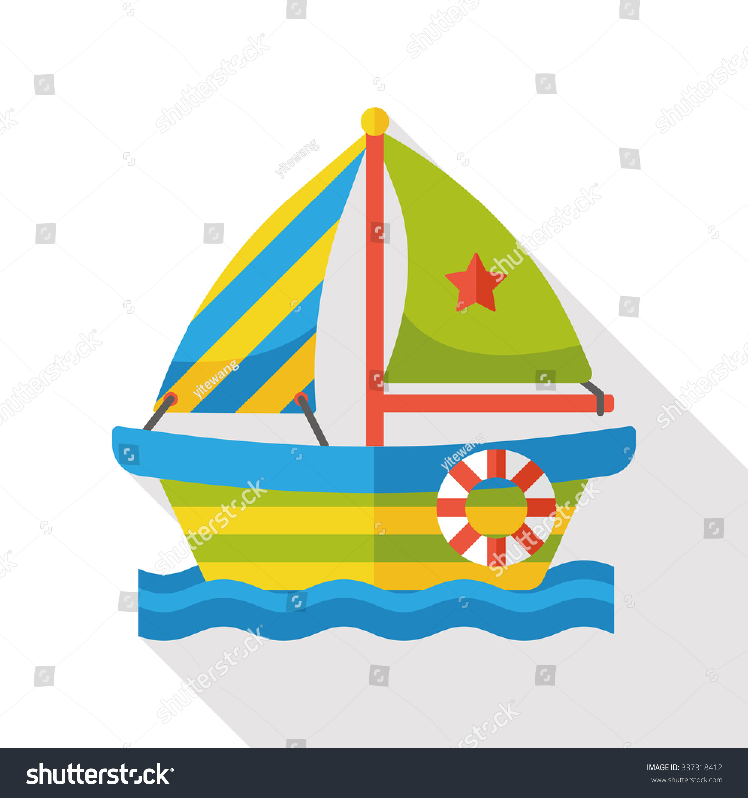 Fishing boat icon png