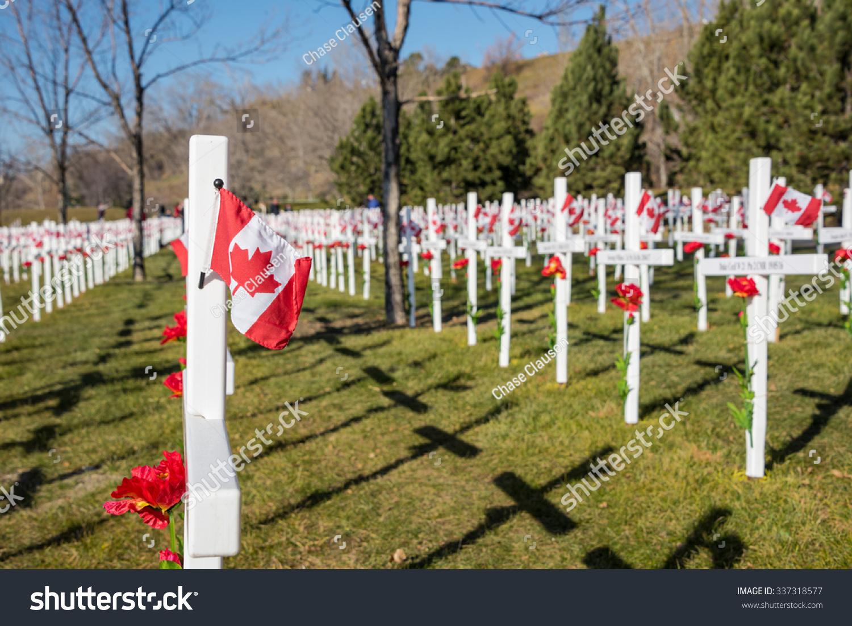 calgary memorial crosses