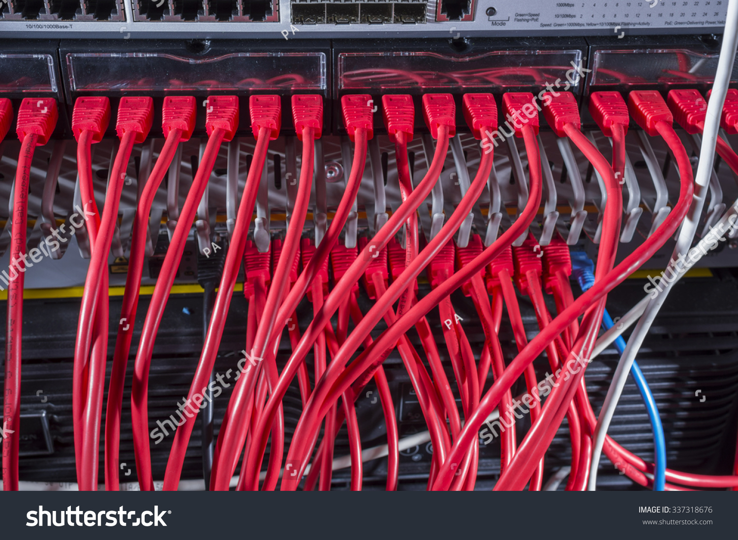 Internet Wires Server Stock Photo Edit Now 337318676 Shutterstock Wiring Closet In