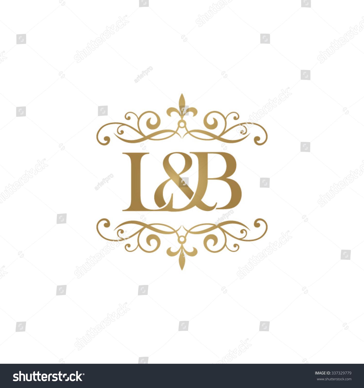 Tj initial luxury ornament monogram logo stock vector - L B Initial Logo Ornament Ampersand Monogram Golden Logo Stock Vector Illustration 337329779 Shutterstock