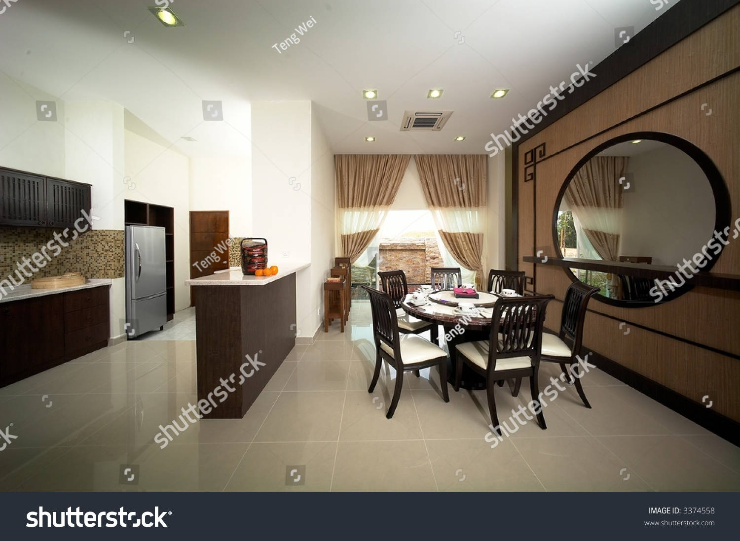 Interior design layout stock photo 3374558 shutterstock for Teng yong interior design decoration