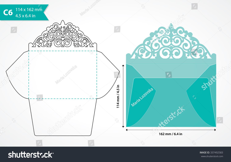 Wedding invitation envelope size suggestions yaseen for ideas wedding invitation envelope size die cut envelope template laser monicamarmolfo Gallery