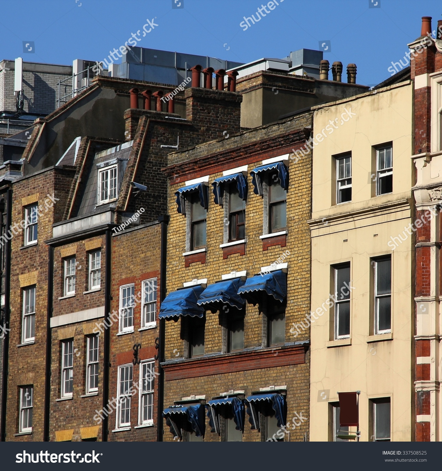 London United Kingdom Typical English Residential Stock Photo