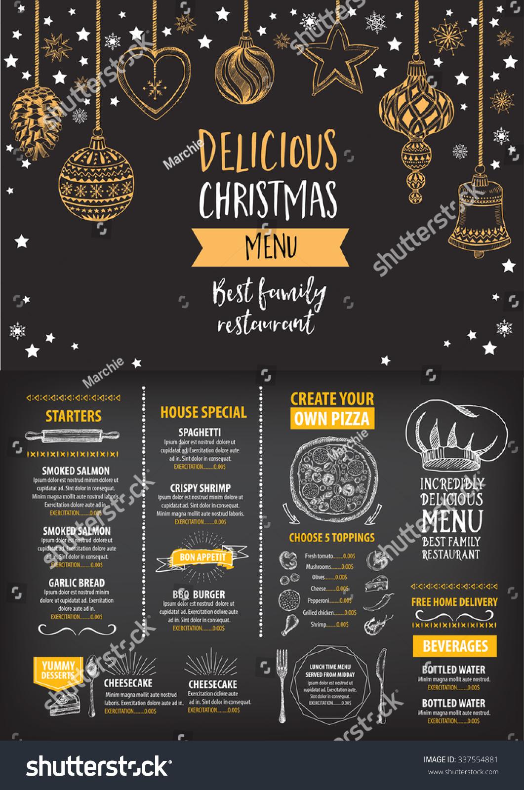 new year menu design - Pertamini.co