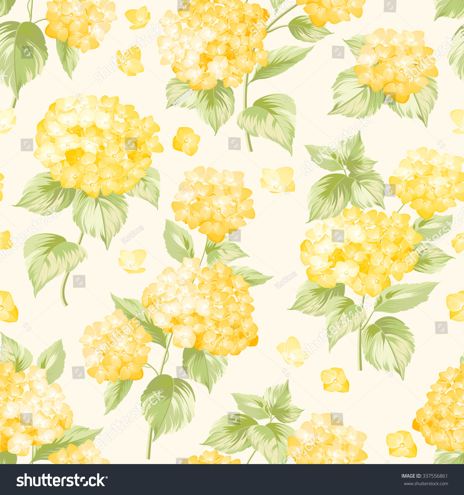 yellow floral pattern - photo #19