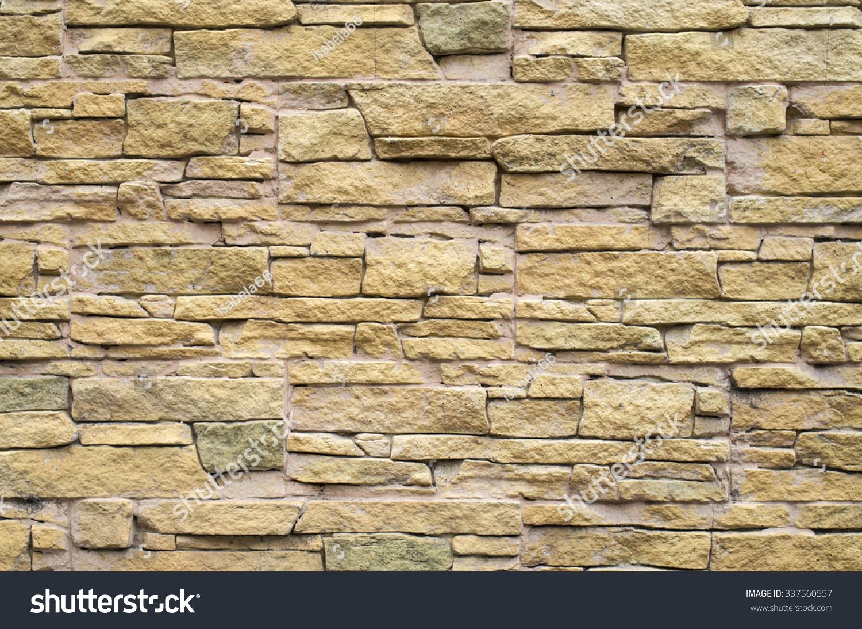 Decorative Relief Cladding Slabs Imitating Stones Stock Photo ...