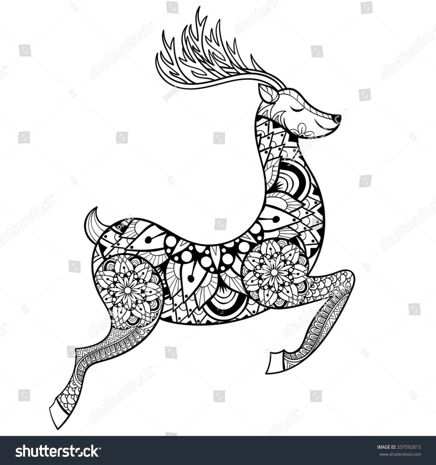 deer love coloring pages