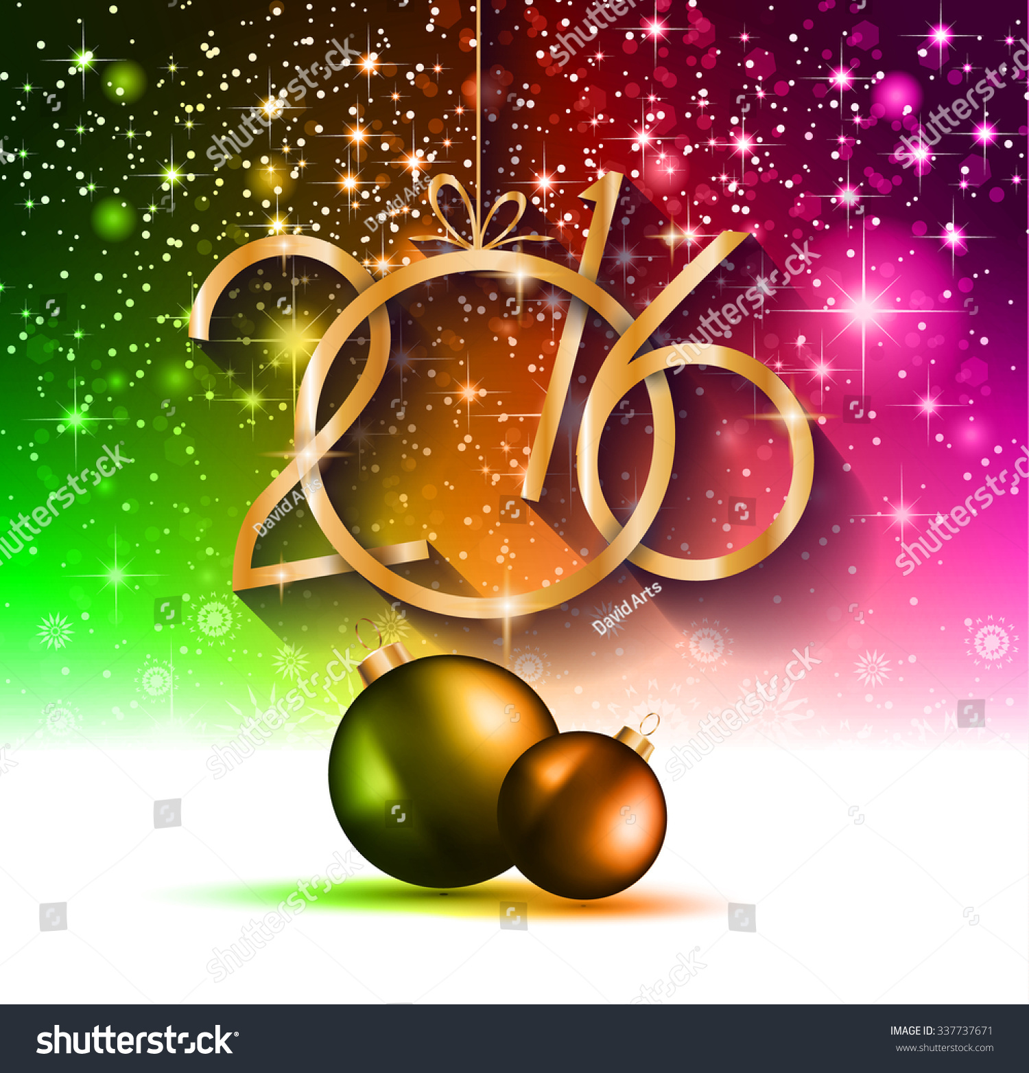 2016 happy new year and merry christmas background for your seasonal wallpapers greetings card