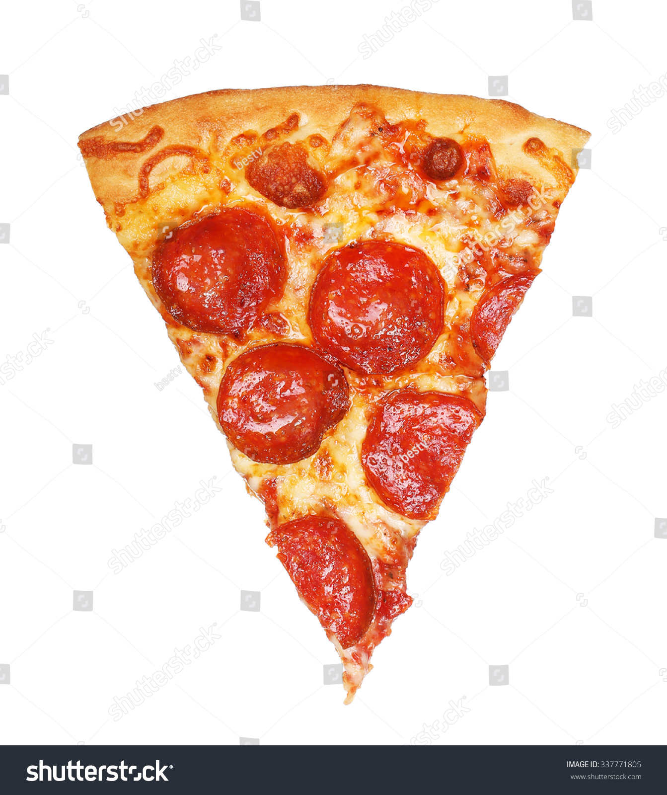 Slice fresh italian classic original pepperoni stock photo for Pizza original