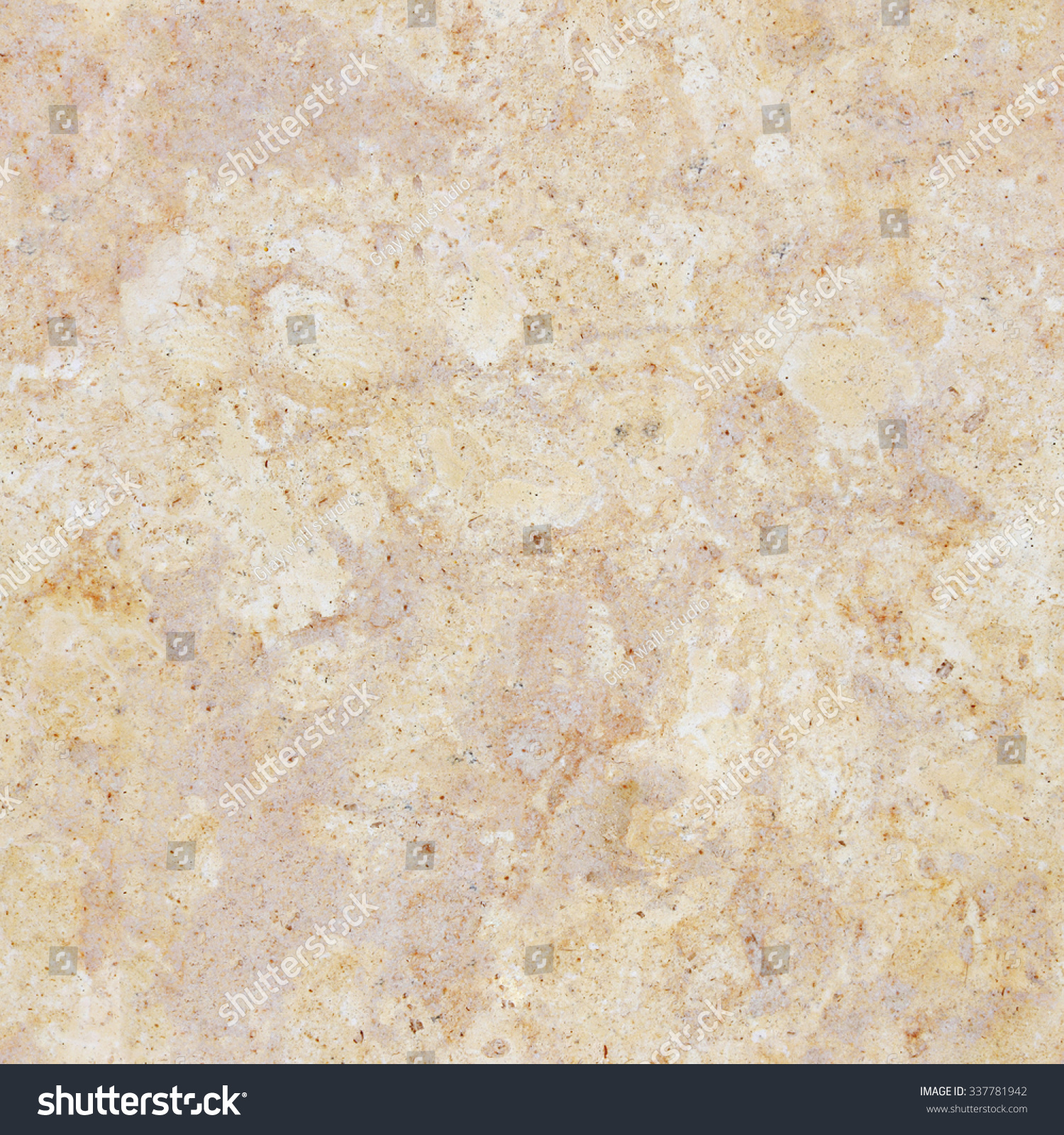 Seamless Beige Marble Stone Wall Texture Tiled Cream