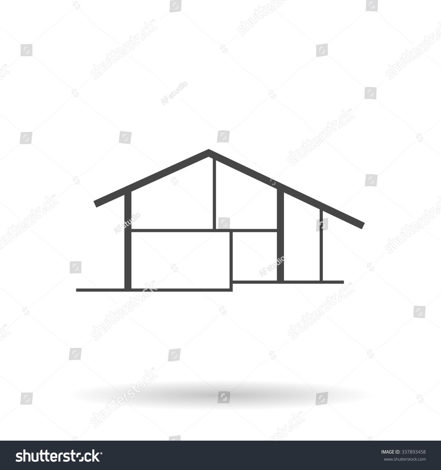 modern house icon – Modern House - ^