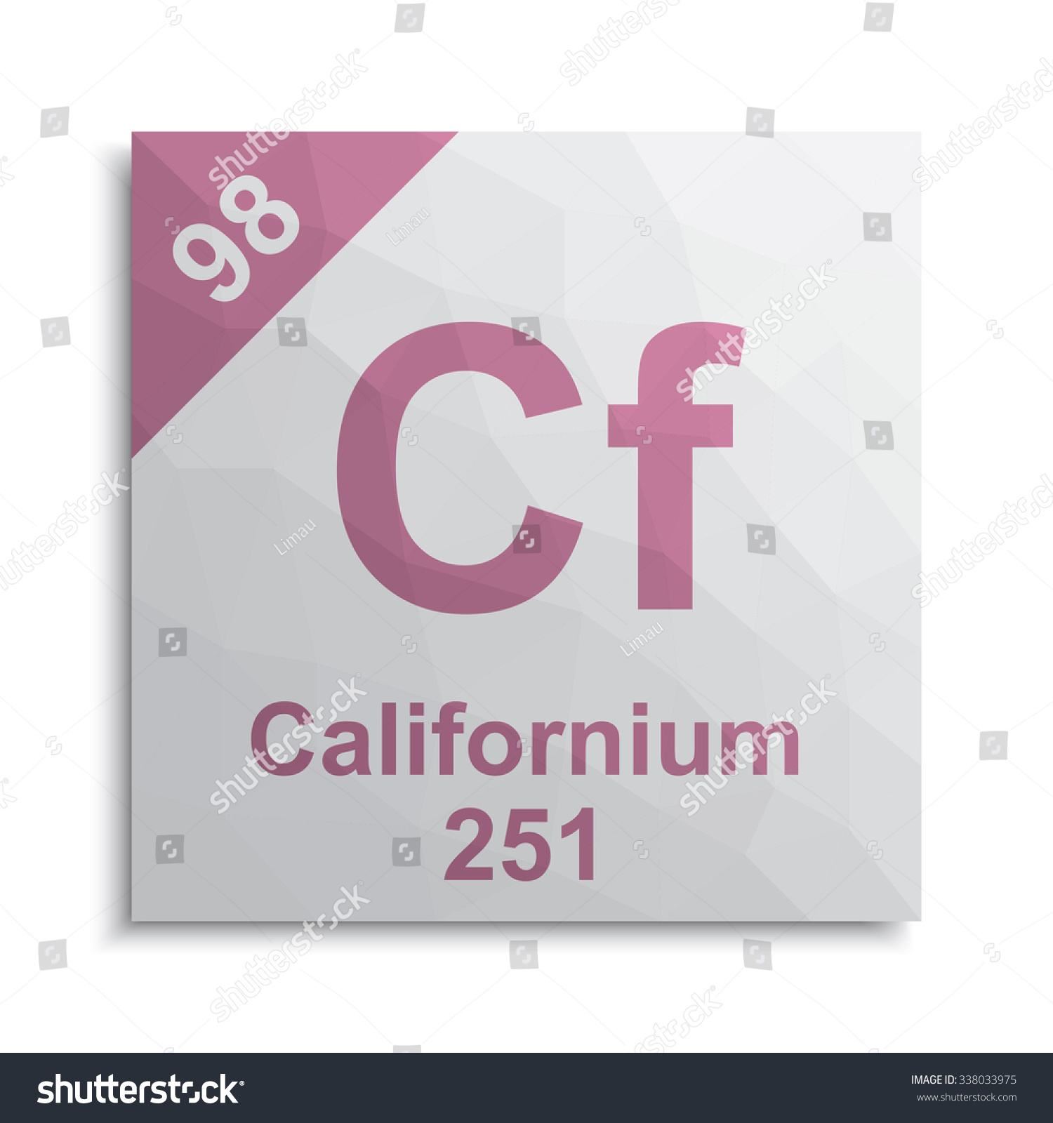 Californium element periodic table stock vector 338033975 californium element periodic table gamestrikefo Images