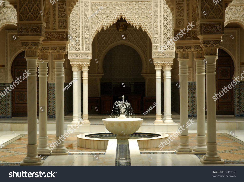 moroccan architecture interiors stock photo edit now 33806920
