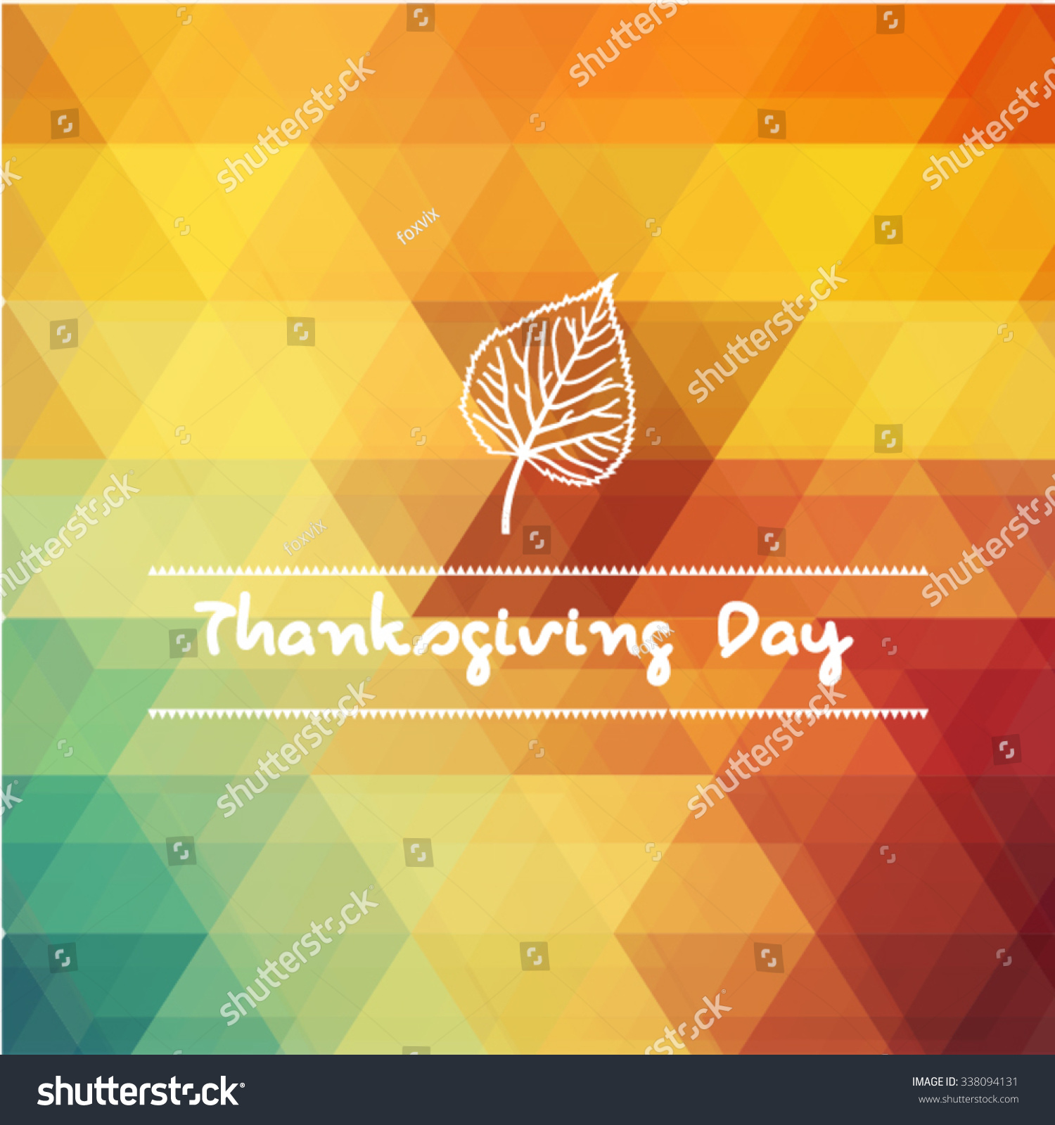 Design Style flat design style happy thanksgiving day stock vector 338094131