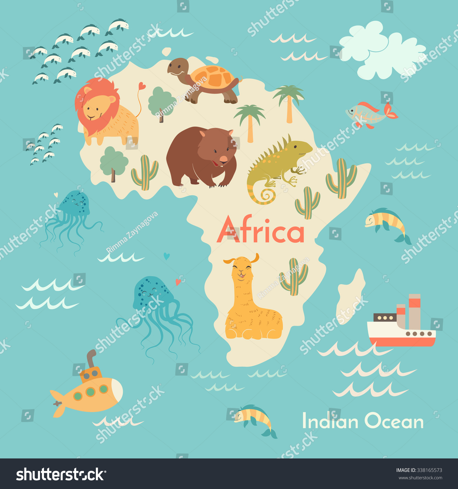 Animals world map africa africa map vector de stock338165573 animals world map africa africa map vector de stock338165573 shutterstock gumiabroncs Choice Image