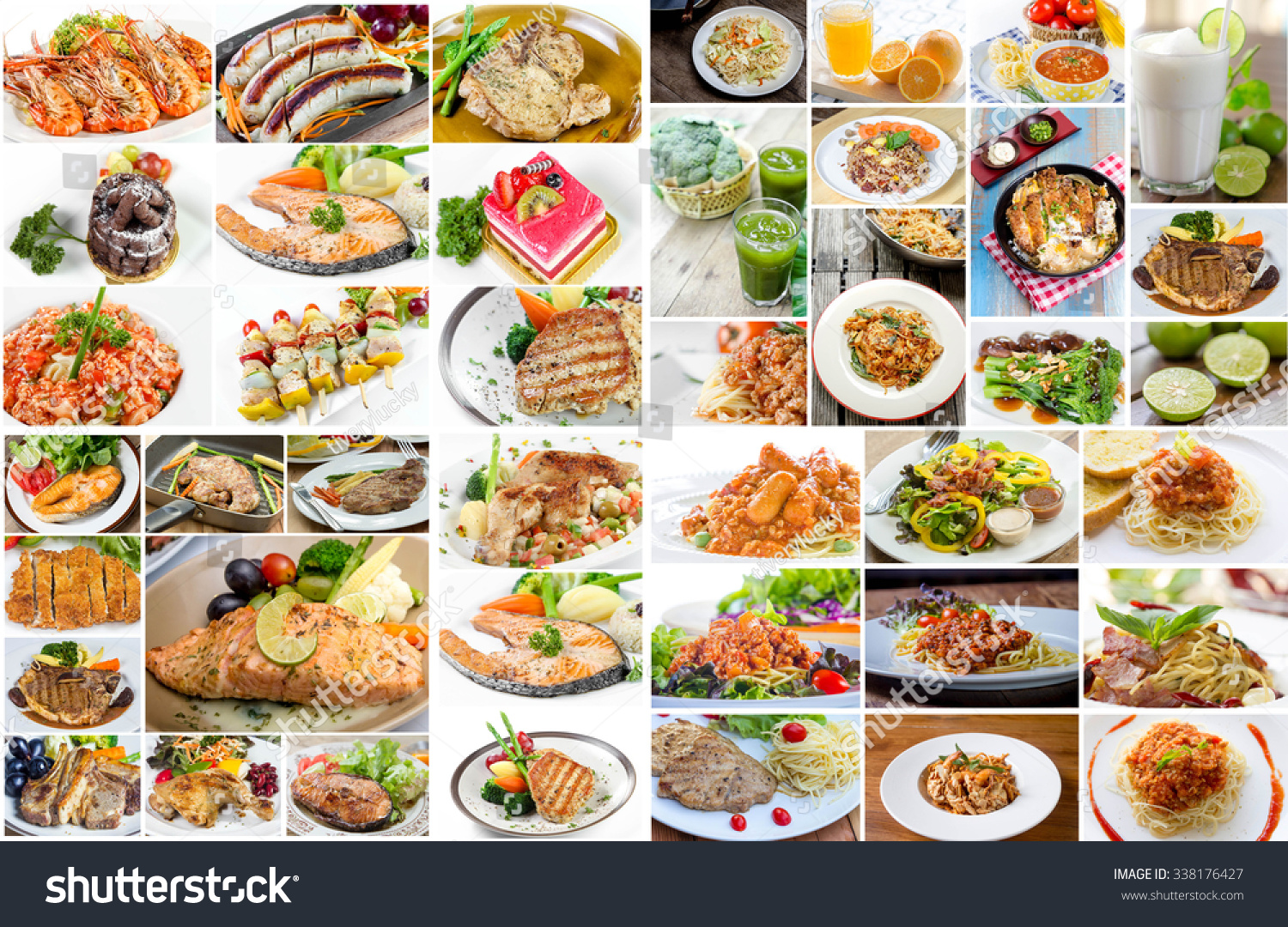 Collage food menu asian american chinese 338176427 for Asian american cuisine