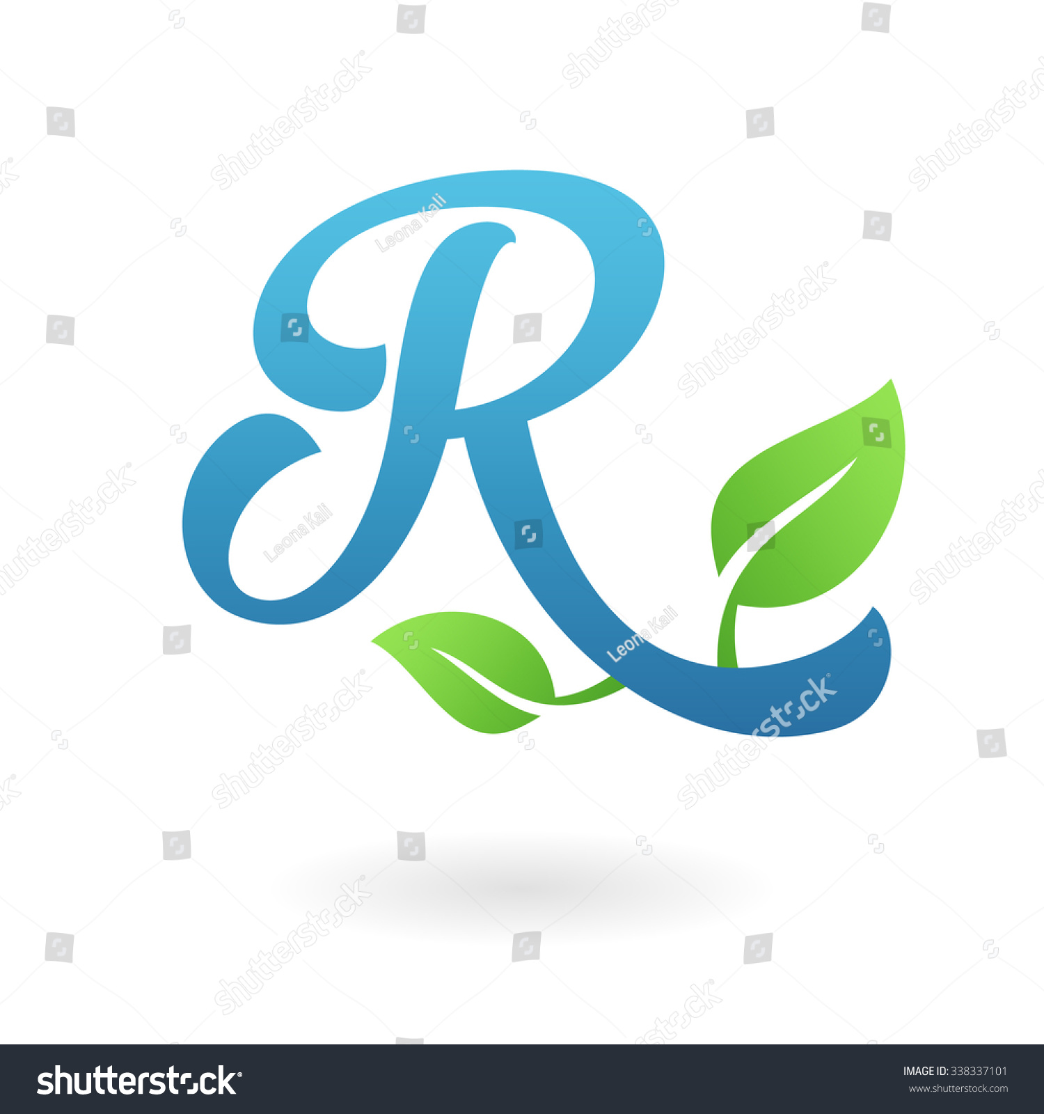R Letter Business Logo Design Template. Abstract ...