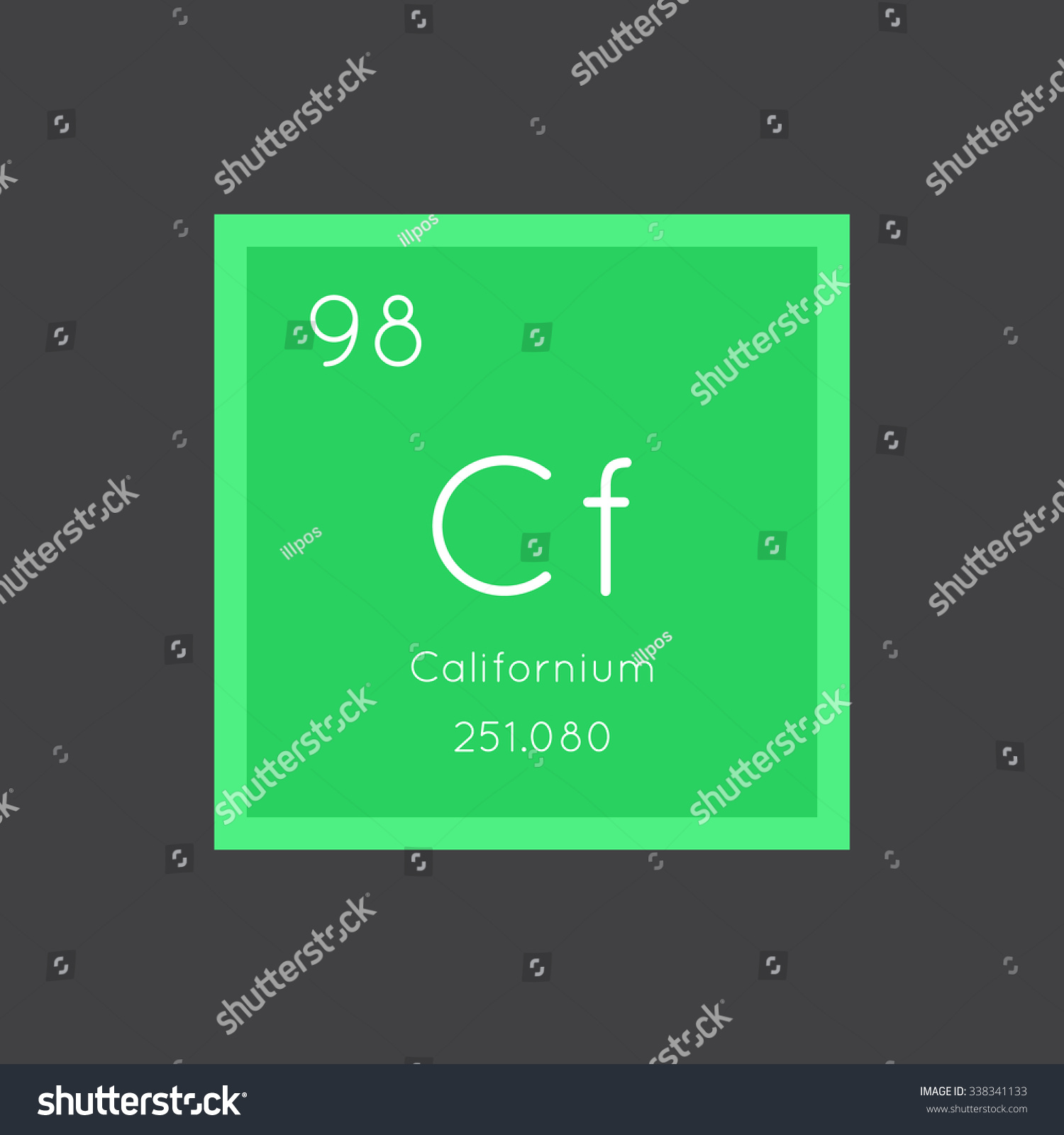 Californium simple style tile icon chemical stock vector 338341133 californium simple style tile icon chemical element of periodic table vector illustration eps8 gamestrikefo Images