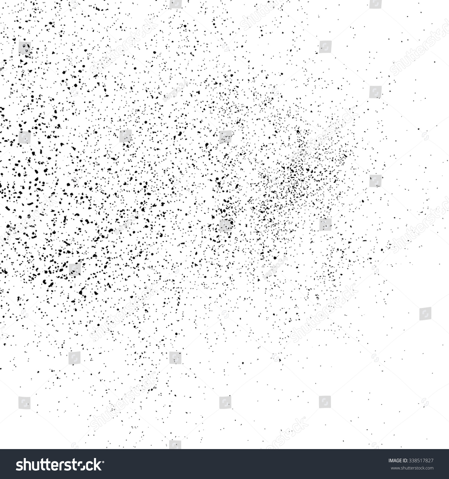 Grainy abstract  texture on a white background. Design element. Vector illustration,eps 10. #338517827