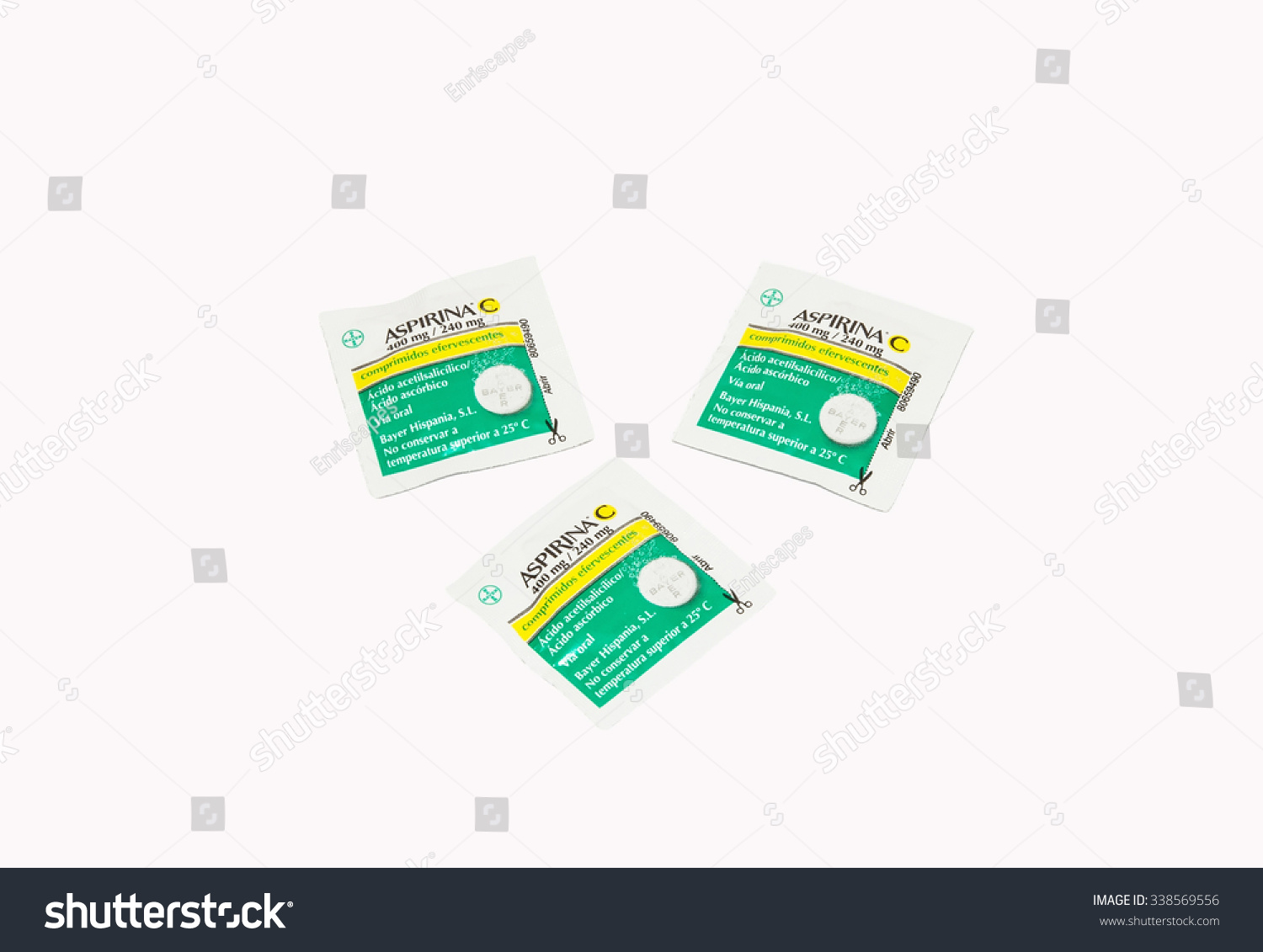 Madrid spain november 12 packaging effervescent stock photo madrid spain november 12 packaging effervescent aspirin with vitamin c isolated on november buycottarizona Image collections