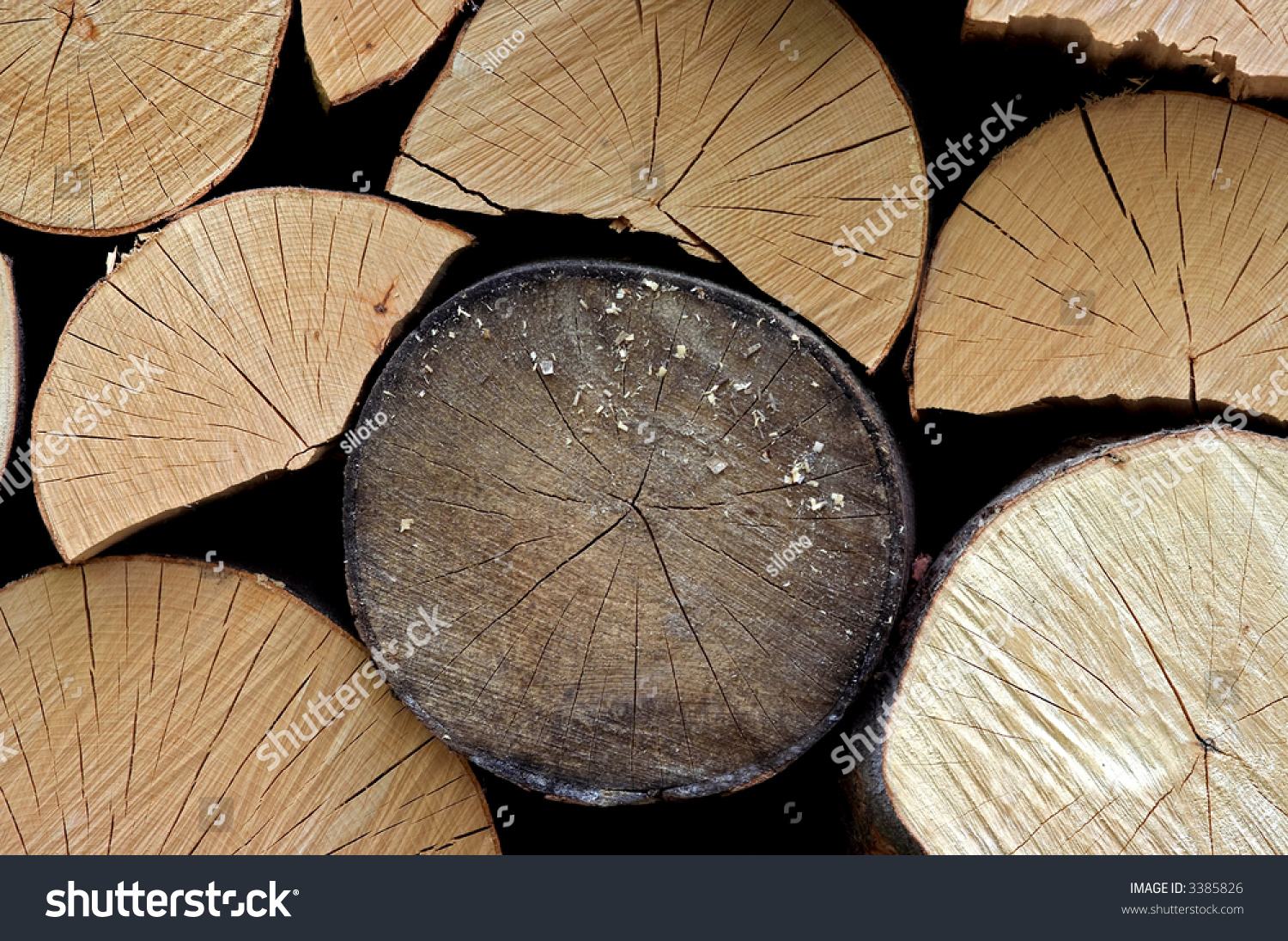 Billet Wood Stock Photo (Edit Now) 3385826 - Shutterstock