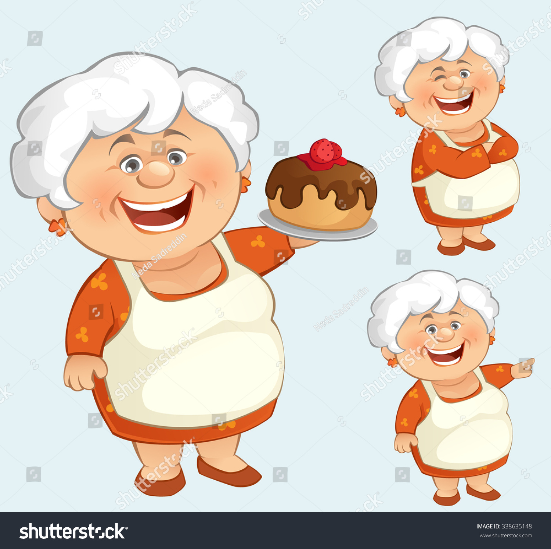 Grandma Stock Vector 338635148 Shutterstock