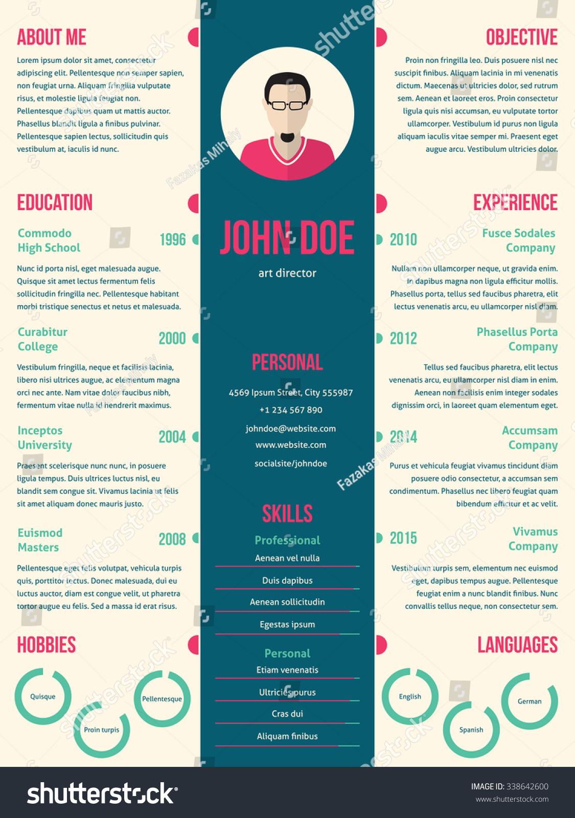Job Curriculum Vitae Template