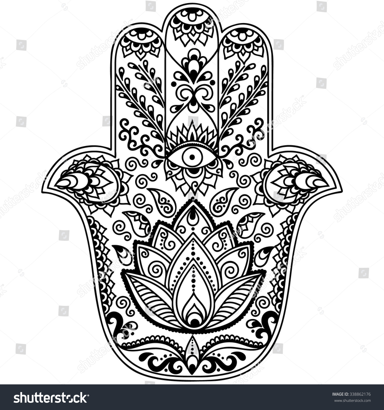 Image Gallery Hamsa Hand