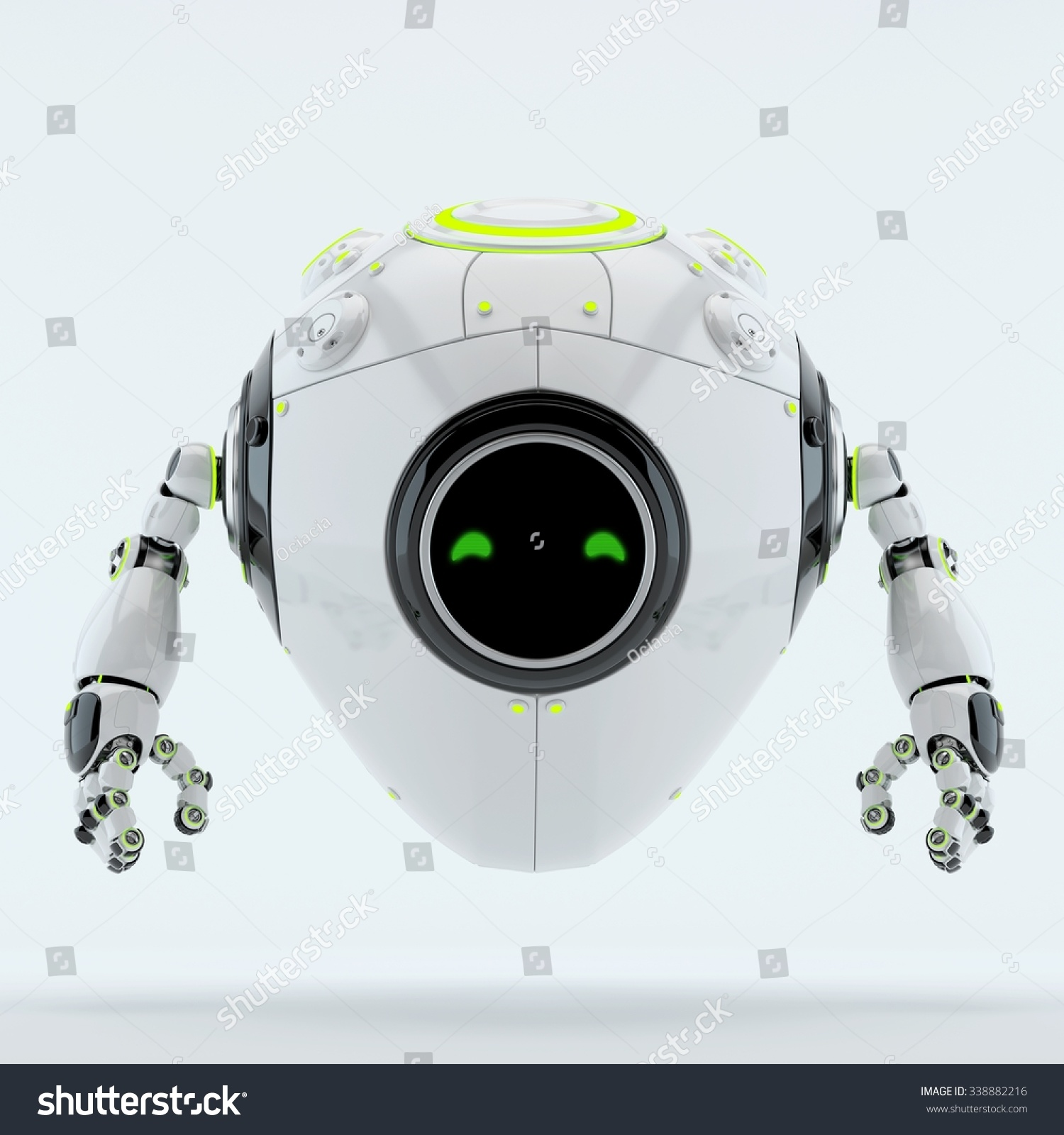 Royalty Free Stock Illustration Of Cyber Egg Character Stylish