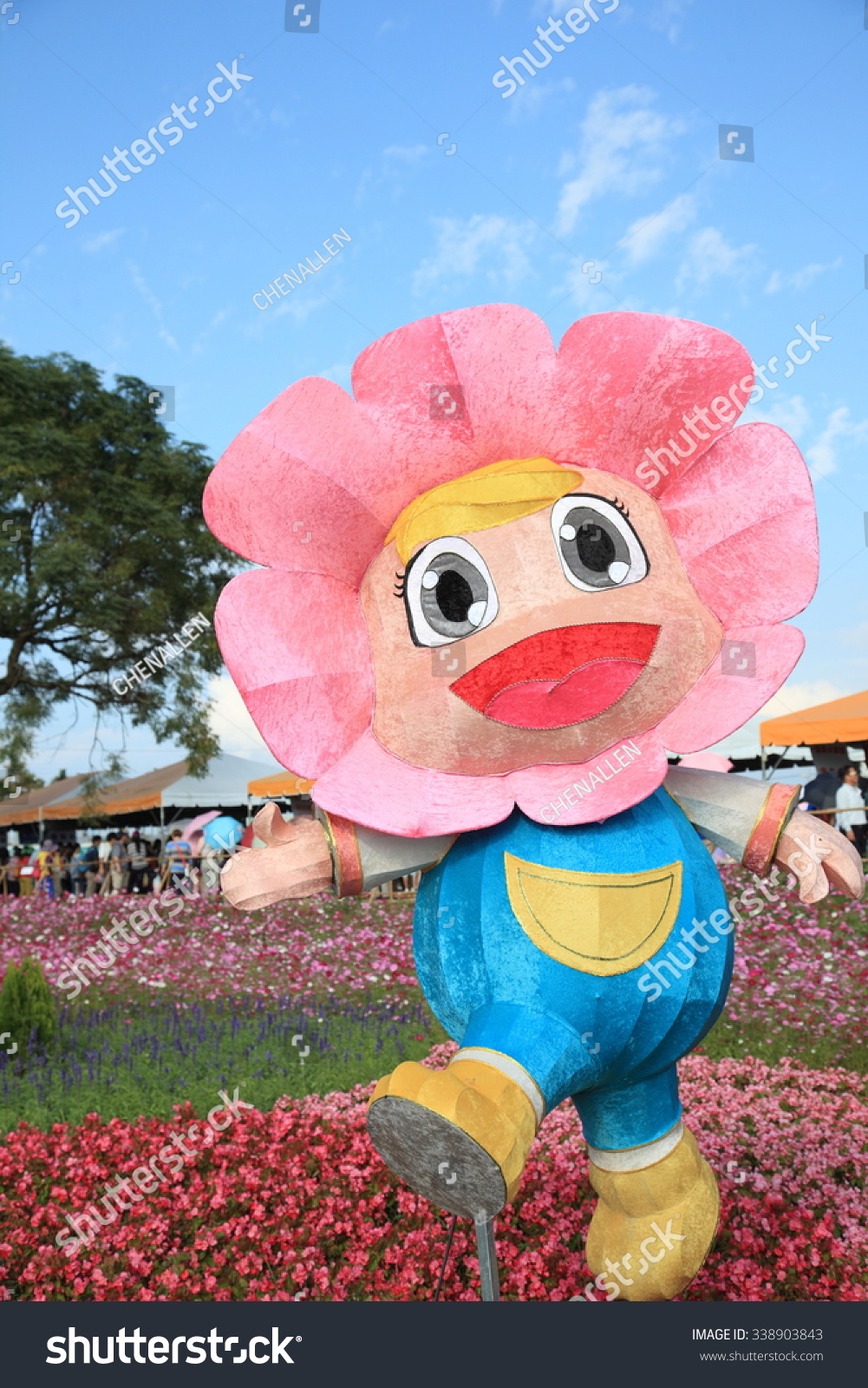 Taichung Taiwan 11 2015 Taichung Flower Stock Photo Edit Now 338903843