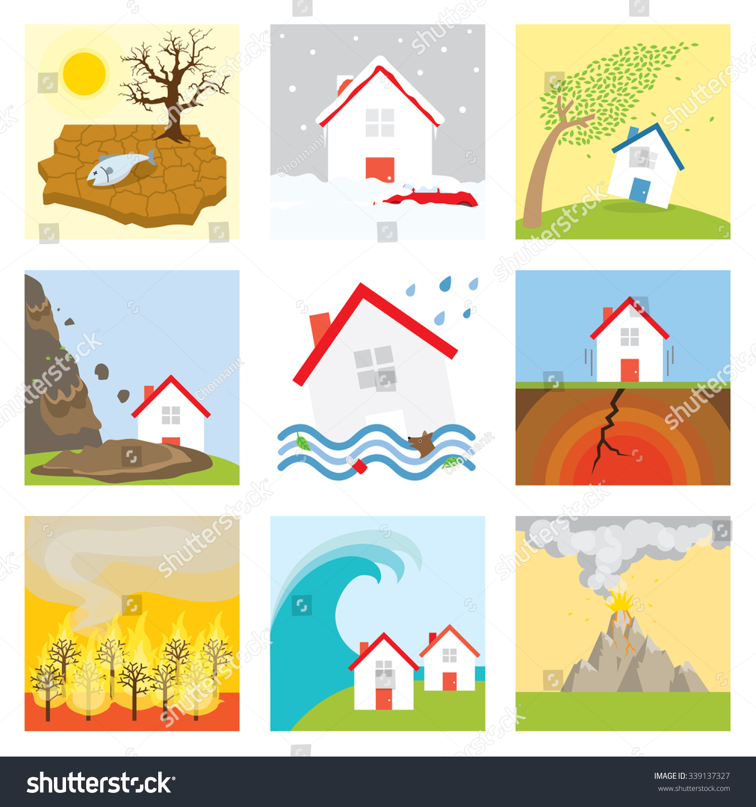 pics for  gt  natural disaster flood clipart Tornado Shelter Sign clip art tornado shelter sign