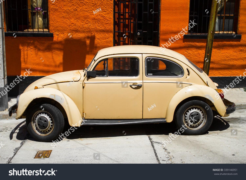VALPARAISO NOVEMBER 07 Old Car On Stock Photo (Royalty Free ...