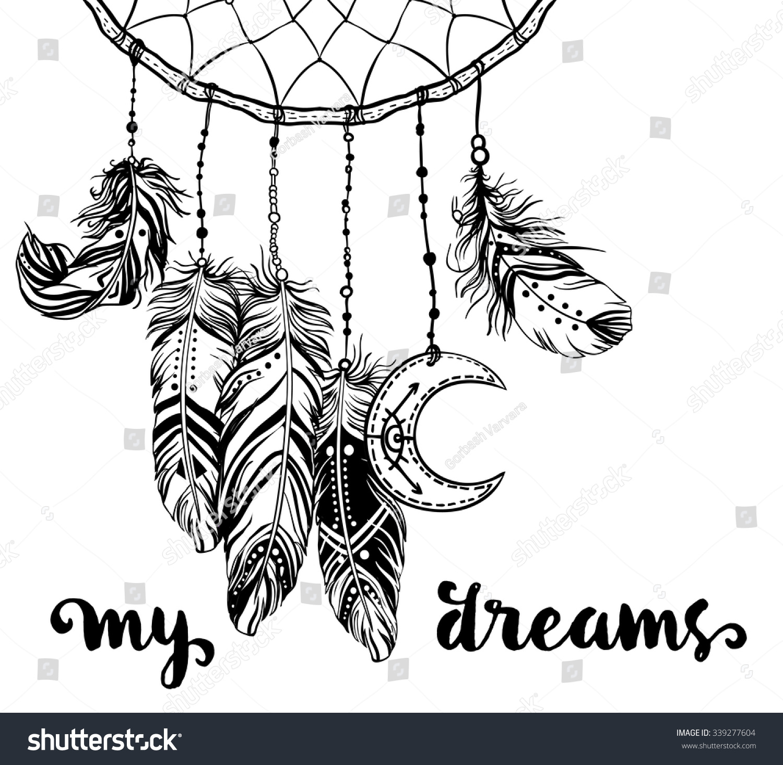 Hand Drawn Clip Art Native American Stock Vector 339277604 ...