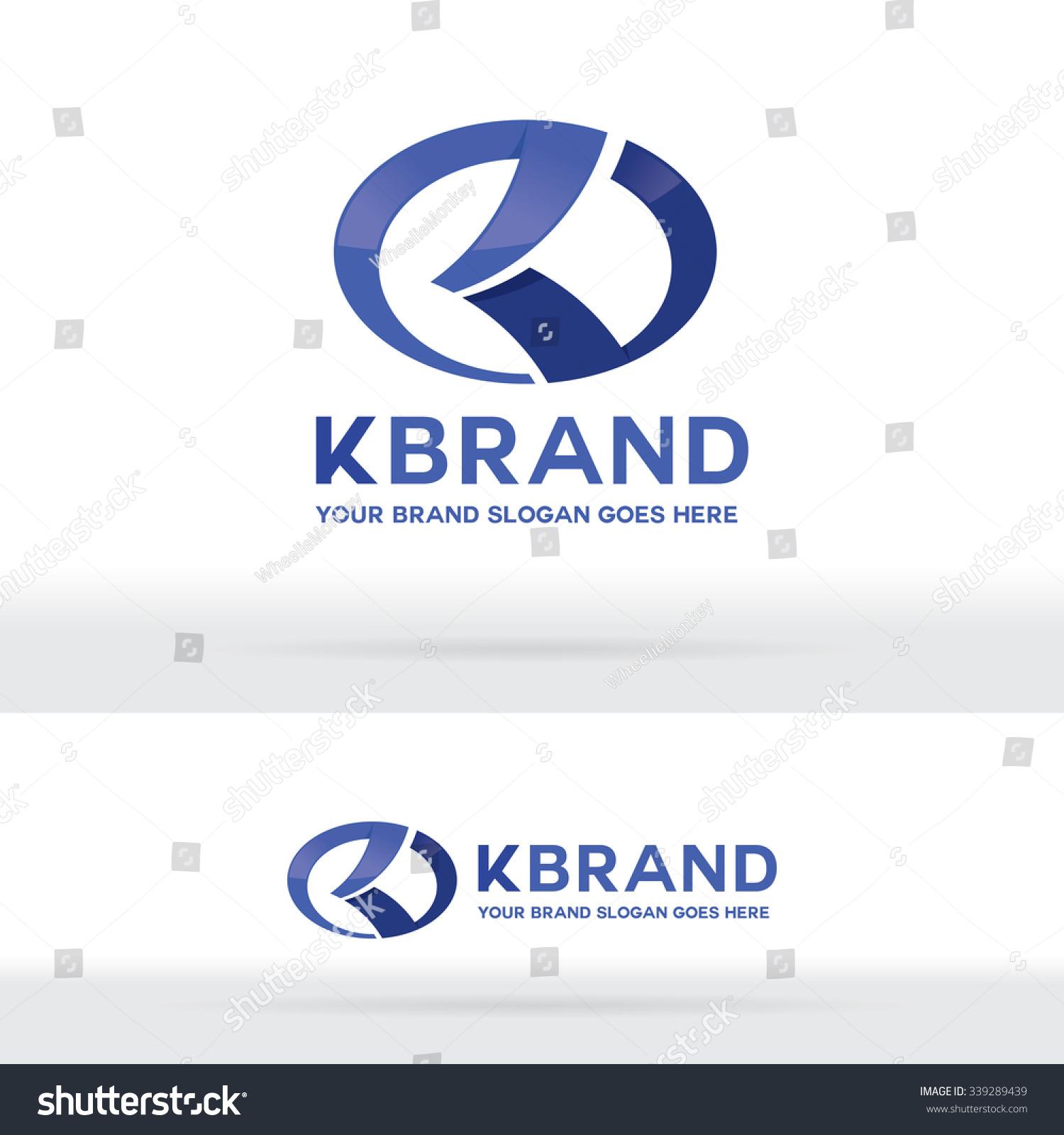 Letter K Logo Letter K Brand Stock Vector Royalty Free 339289439