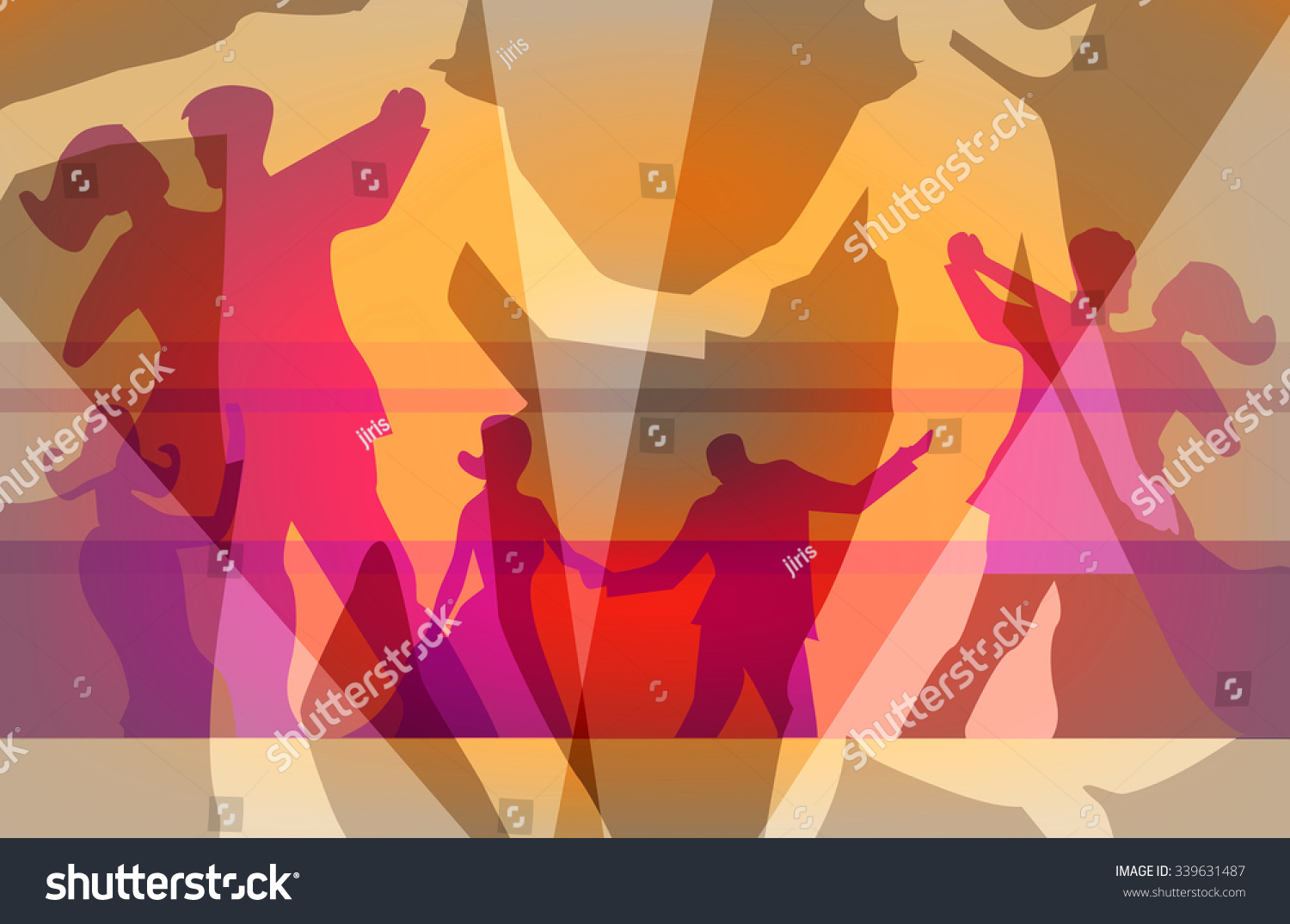 Ballroom Dancing Dance Party Background colorful ...
