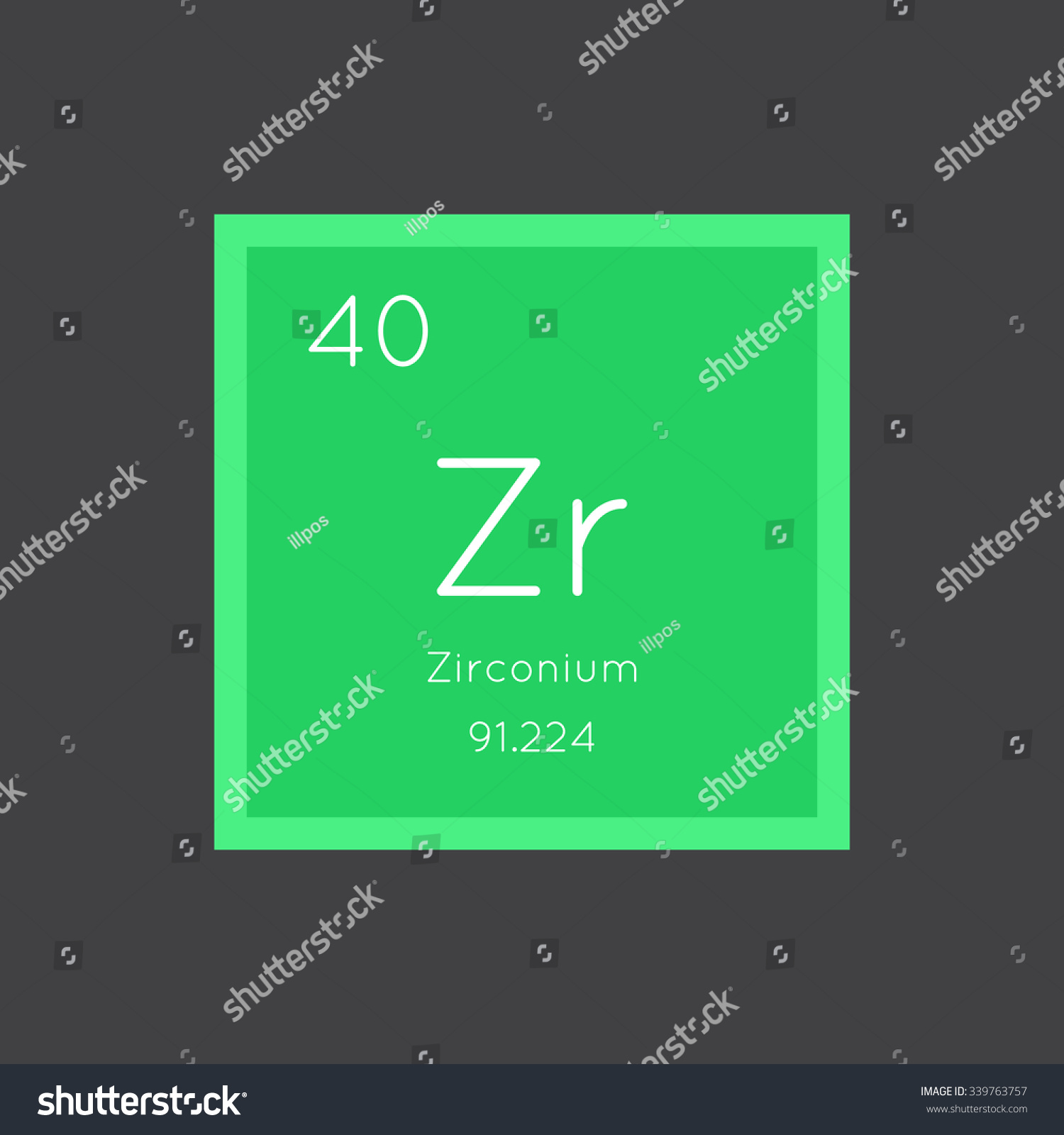 Periodic table zr define a political map kenwood stereo wiring zirconium simple style tile icon chemical stock vector 339763757 stock vector zirconium simple style tile icon chemical element of periodic table vector urtaz Gallery